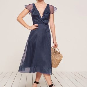 Reformation Cannes Wrap Dress